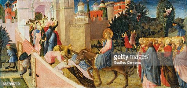 Entry into Jerusalem by Sassetta