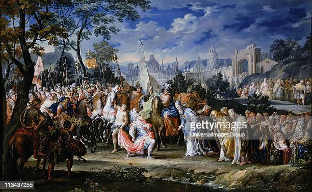 entry of alexander the great into babylon ストックフォトと画像