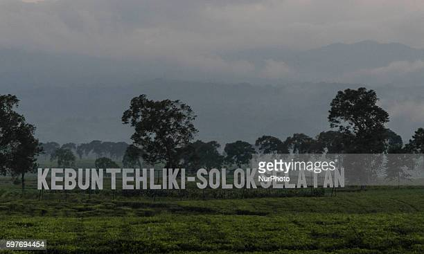 Entry of Kebun Teh Liki Solok Selatan park in West Sumatra Indonesia on 29 August 2016 The latest official estimate for January 2014 shows a...