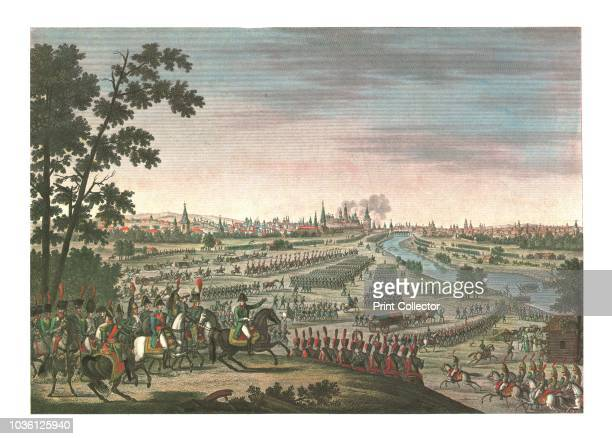 Entry of the French into Moscow, 14 September 1812, . After the bloody but indecisive Battle of Moscow the Russians retreated, leaving the French to...