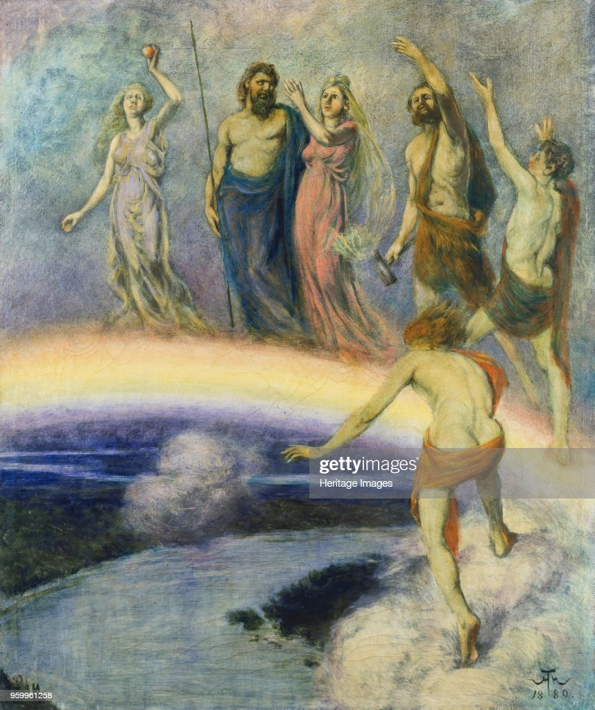 entry of the gods into valhalla 1880 found in the collection of