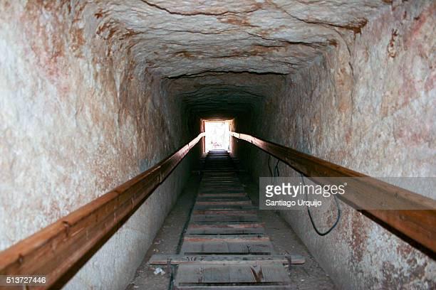 Entry shaft of Dahshur Pyramid