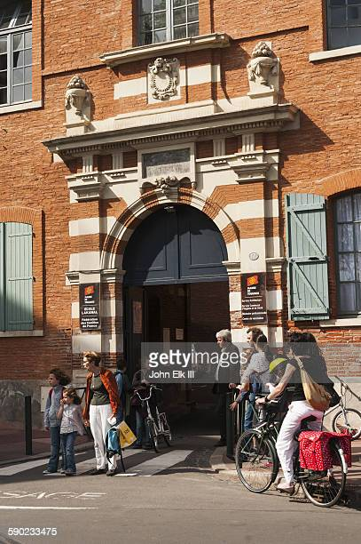 Entry to Capitole in Toulouse
