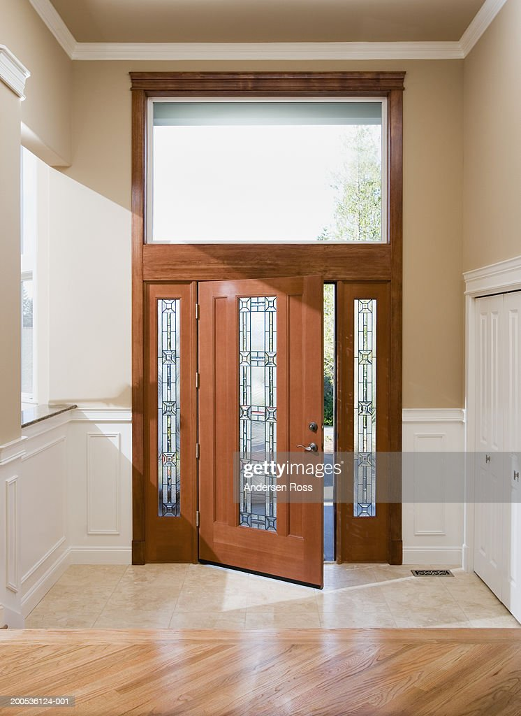 Entryway And Front Doorway In House Stock Photo