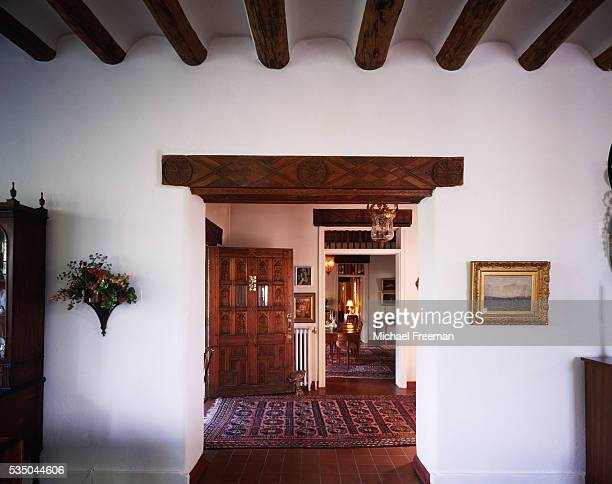 Entryway of an Adobe House