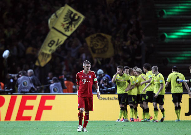 Soccer - German DFB Cup Final - Borussia Dortmund vs, FC