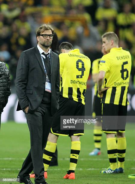 enttäuscht Trainer Jürgen Juergen Klopp Borussia Dortmund Championsleague Finale Borussia Dortmund BVB FC Bayern München 21 2552013 Championsleague...