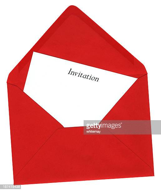 Envelope and invitation