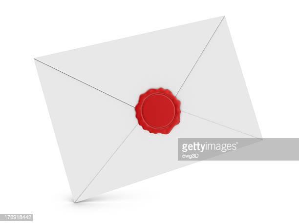 Enveloppe et Wax Seal