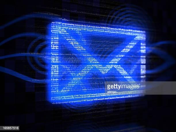 umschlag e-mail - - e mail stock-fotos und bilder