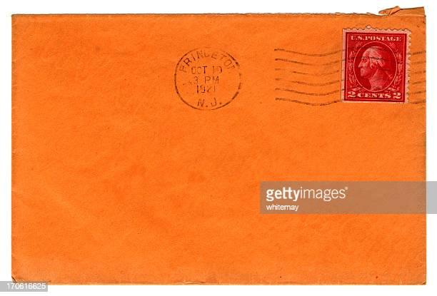 envelope de princeton - marca postal - fotografias e filmes do acervo