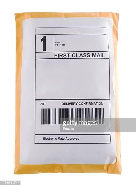封筒、ブランクのラベル