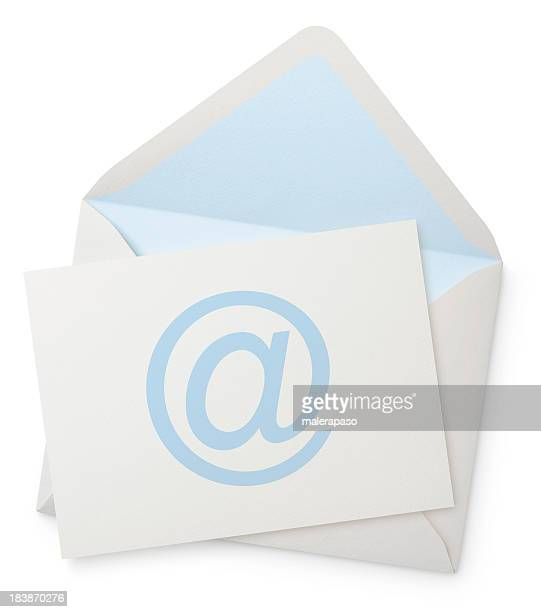 Envelope with blank note