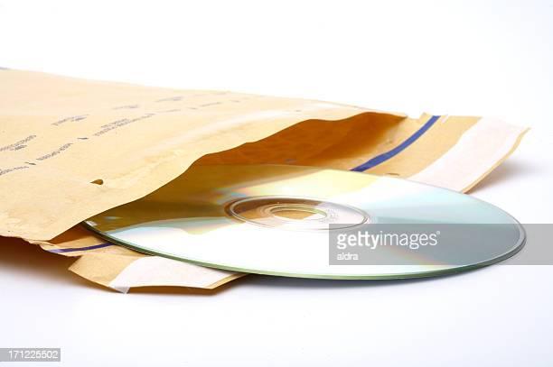 封筒、DVD