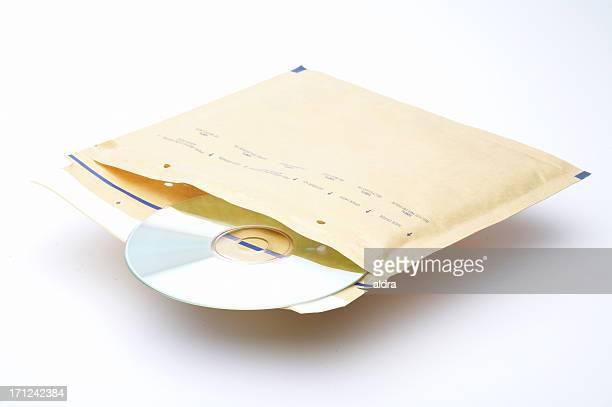 Umschlag mit DVD-Spieler
