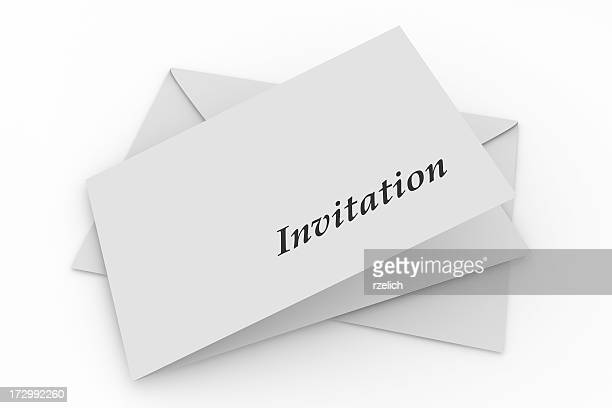 Envelope with invitation