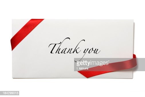 thank you envelopes