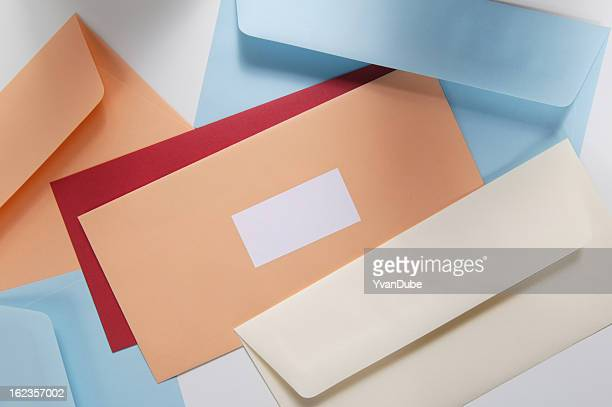 envelopes - sending stock pictures, royalty-free photos & images