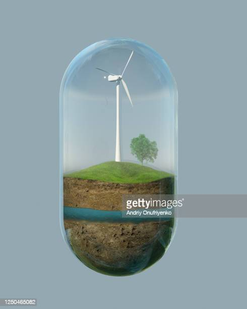 environment capsule - sustainability stock pictures, royalty-free photos & images