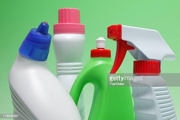 Environnement des produits sûrs ou recyclage Récipient en plastique