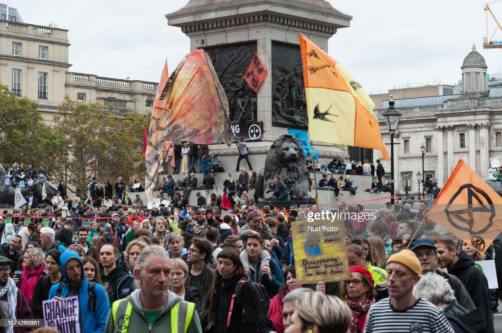 Extinction Rebellion Planned Protests In London : ニュース写真