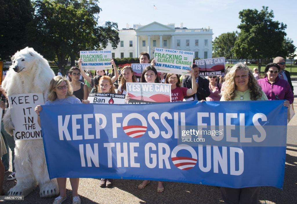 US-POLITICS-CLIMATE-PROTEST : News Photo