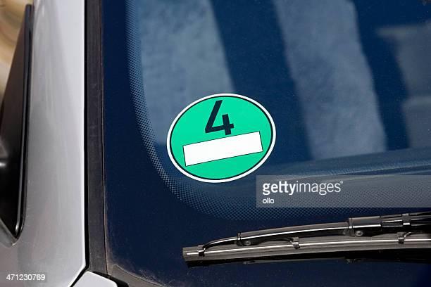 Environmental badge - Feinstaubplakette Umweltzone