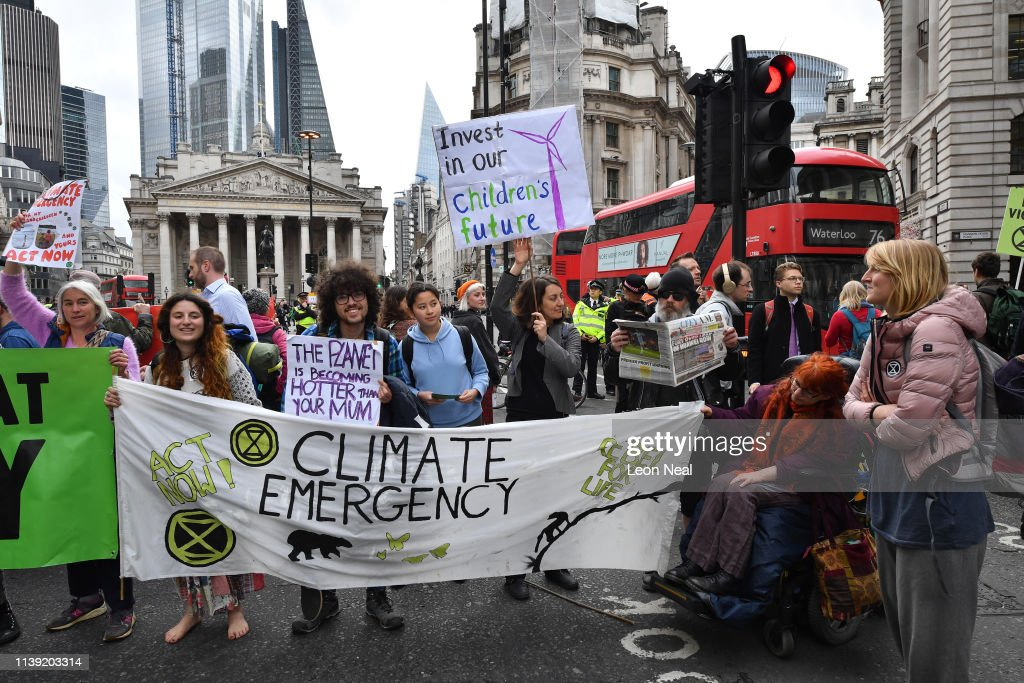 GBR: Extinction Rebellion Hold Final March Ahead Of Leaving London