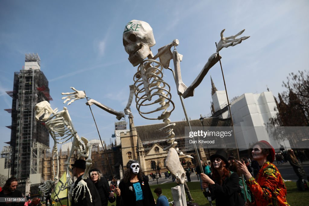 Extinction Rebellion Climate Protests : News Photo