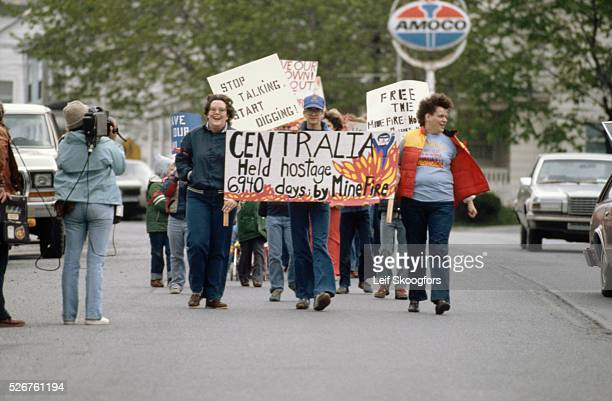 Environmental hazards in Centralia Pennsylvania have been caused by seams of uncontrolled underground coal burning The issue of resettlement and who...