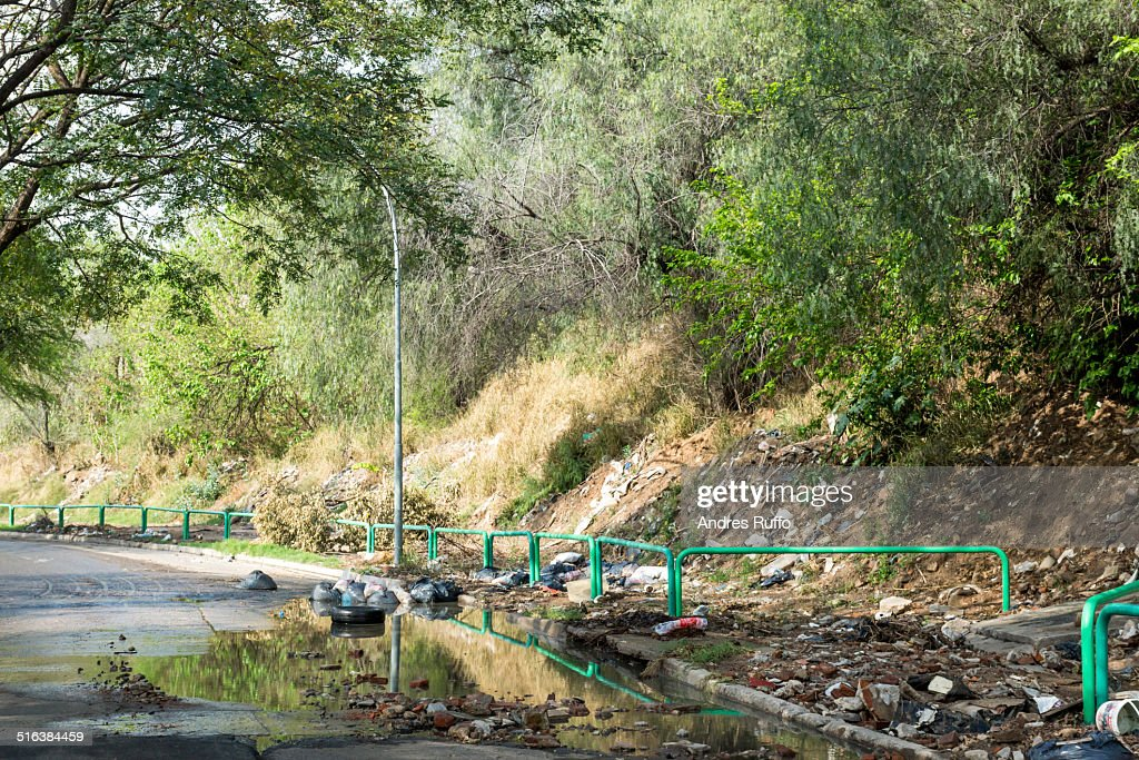 Environmental Issues in the City of Córdoba : Stock Photo