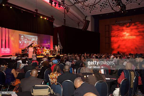 Environmental Photo from the 31st Anniversary Jazz Concert at Walter E Washington Convention Center on September 15 2016 in Washington DC
