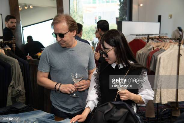 Environmental Photo from the John Varvatos West Hollywood Personal Appearance on April 14 2018 in West Hollywood California