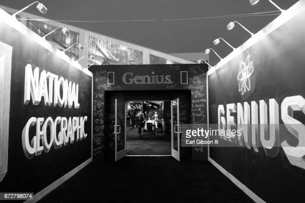 Environmental Photo from the Premiere Of National Geographic's 'Genius' after party on April 24 2017 in Los Angeles California
