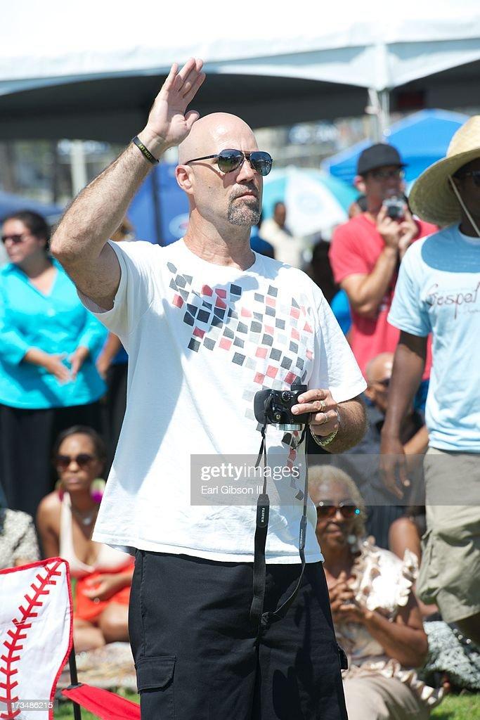 Environmental Photo of the Long Beach Gospel Fest at Marina Green Park on July 14, 2013 in Long Beach, California.