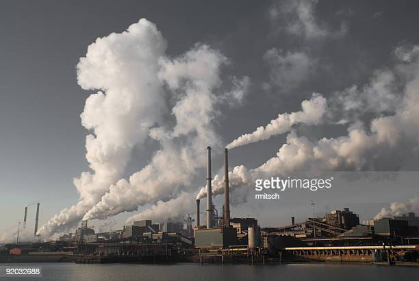 environmental problem - carbon dioxide stock photos and pictures