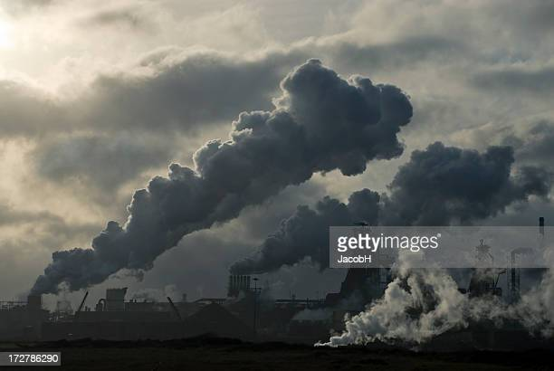 environmental problems - incinerator stock photos and pictures