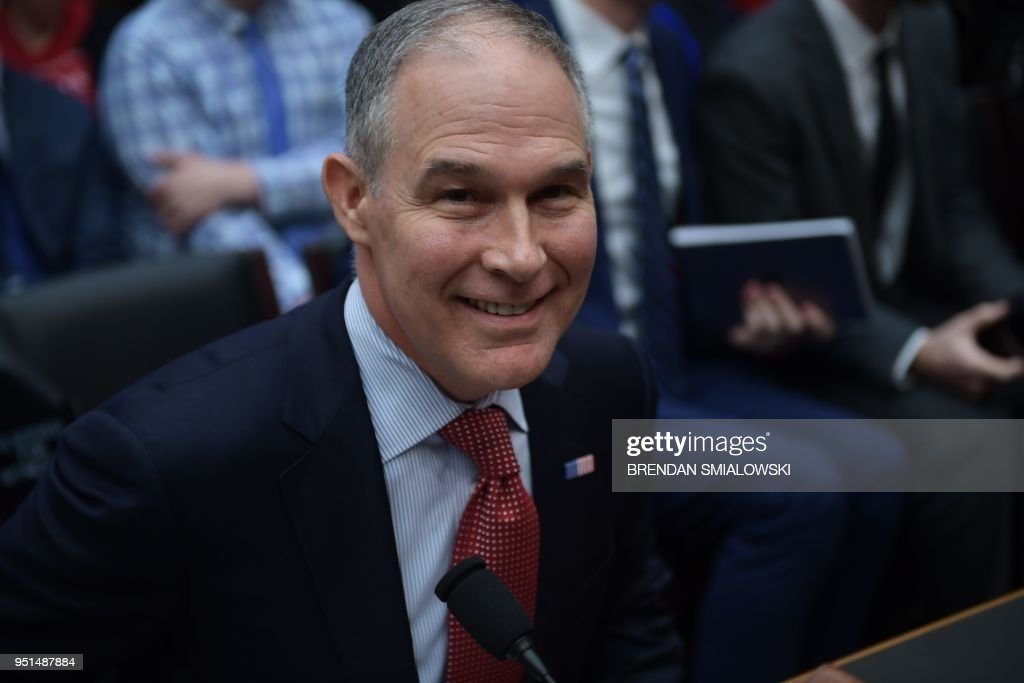 EPA Administrator Scott Pruitt Testifies At House Hearing On FY2019 Budget