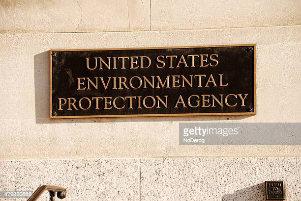 us environmental protection agency office building sign. - environmental protection agency stock pictures, royalty-free photos & images