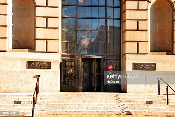 us environmental protection agency office building sign. - environmental protection agency stock photos and pictures