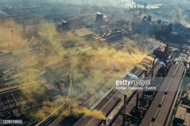 environmental tragedy in the city of zaporozhye - greenpeace stock pictures, royalty-free photos & images
