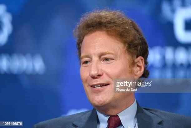 Environmentalist Philanthropist and Investor Dr Thomas S Kaplan speaks onstage during the 2018 Concordia Annual Summit Day 1 at Grand Hyatt New York...