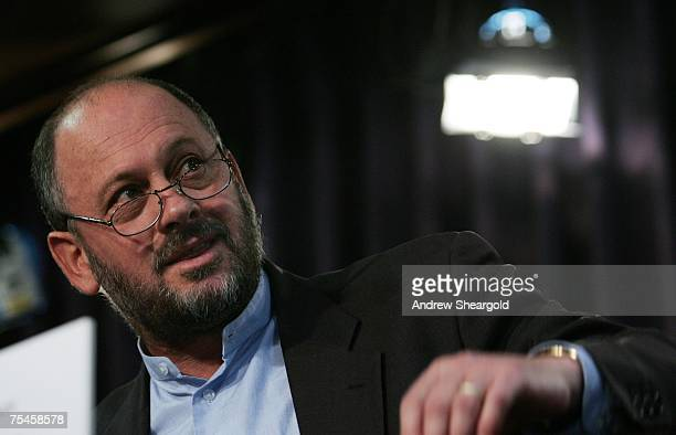 Environmentalist Tim Flannery gives a speech on global warming at the National Press Club July 18, 2007 in Canberra, Australia. Flannery, named as...