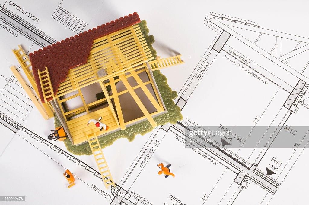 environnement de  chantier : Stock Photo