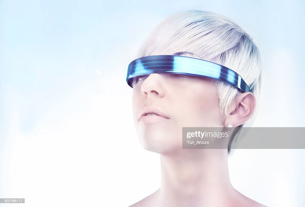 Envisioning the future : Stock Photo