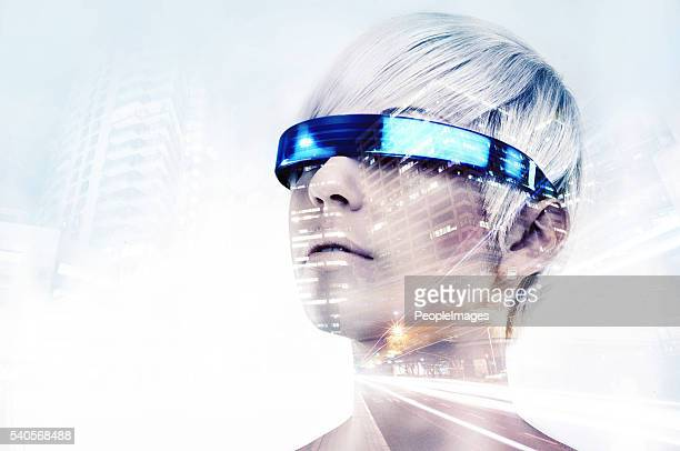 envisioning the future - the way forward stock photos and pictures