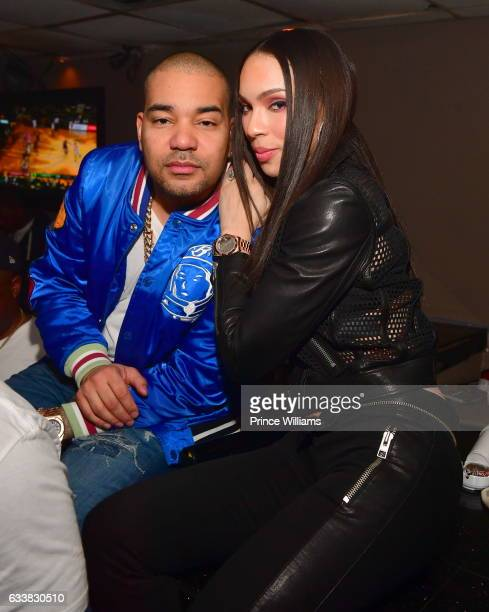 Envy and Gia Casey attend a Super Bowl After Party at Showtime Night club on February 3 2017 in Houston Texas