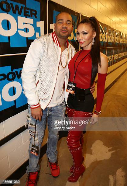 Envy and Gia Casey attend Power 1051's Powerhouse 2013 presented by Play GIGIT at Barclays Center on November 2 2013 in New York City