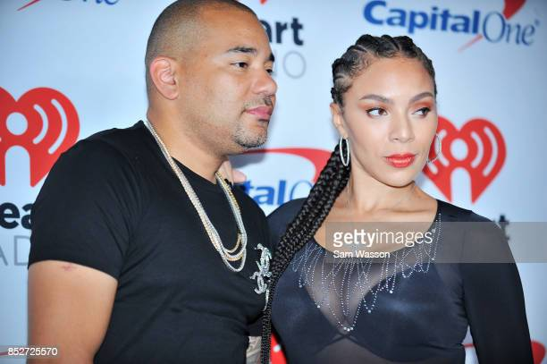Envy and Gia Casey attend the 2017 iHeartRadio Music Festival at TMobile Arena on September 23 2017 in Las Vegas Nevada