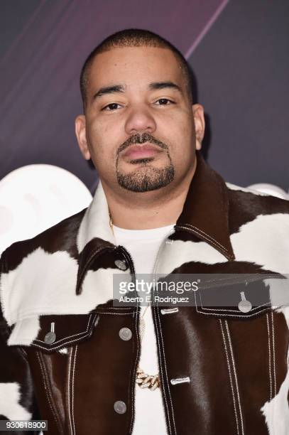 Envy arrives at the 2018 iHeartRadio Music Awards which broadcasted live on TBS TNT and truTV at The Forum on March 11 2018 in Inglewood California